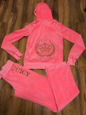 Stunning Juicy Coutute Girls Tracksuit Size XL (12-14)