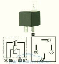 CLASSIC CAR / MOTORCYCLE 6v electronic 20A 4 terminal MINI relay unit