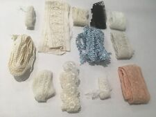 Vintage and Antique haberdashery trimmings and edging job lot