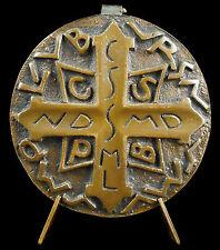 Médaille de saint Benoît gage de protection Crux Sancti Patris Benedicti medal