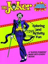 Vintage Reprint - 1984 - The Joker Coloring & Activity Fun Cover And Mask