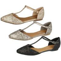 Savannah F8R0070 Ladies Sandals Pewter, Light Gold or Black (R4B)