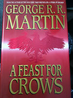 SIGNED 1ST A Feast for Crows (A Song of Ice and Fire Book 4) George R.R. Martin
