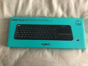 Logitech K400 Plus TV keyboard Wireless - Black