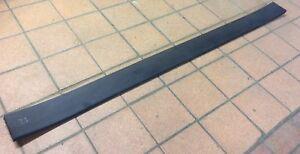 Forklift Snow Plough/Yard Scraper - Replacement Rubber Wear Strip 1265 x 100mm