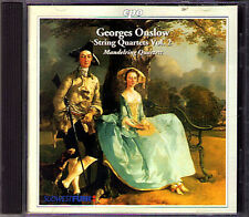 Georges ONSLOW string quartet op.4 10 46 Mandelring quatuor CD quatuor à cordes