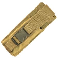 Bulle Tan MOLLE Webbing Tactical Mini Torch Pouch Multitool Small Utility Pouch