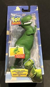 VERY Rare Disney Pixar TOY STORY 'REX' Figure 2003 (Still sealed)