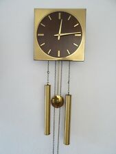 Junghans Vintage Retro Mid Century Wall Clock REPAIR (Kienzle Mauthe Hermle era)