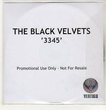 (EP520) The Black Velvets, 3345 - DJ CD