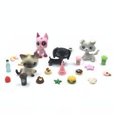 Littlest Pet Shop lot 4 PCS pets #5 #2598 #325 #363 + 10 random Accessories