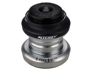 "Ritchey Logic Threadless Headset (Black/Silver) (1"") (EC30/25.4) (EC30/26)"