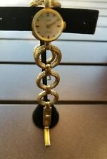 VINTAGE  ANKER 17 RUBIS BRACELET WATCH  - GOLDPLATE ***RUNS
