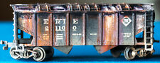HO Scale Erie Weathered Covered Hopper ECHxA3