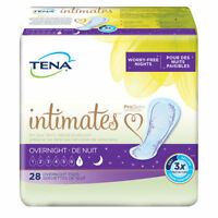 TENA Intimates Overnight Pads, Heavy, Bladder Control Pad, 54282 - Case of 84