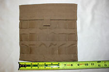 NEW US Military Issue EAGLE INDUSTRIES COYOTE SIDE PLATE POCKET Pouch  MOLLE