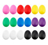 18PCS Plastic Egg Shakers Percussion Musical Egg Maracas Kids Toys with 8 Colors
