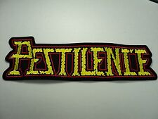 PESTILENCE EMBROIDERED BACK PATCH