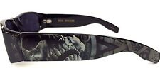 Authentic Dyse One Shades Aztec Skeleton Sunglasses California Lowrider Style
