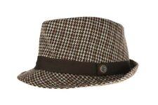 Ben Sherman Brown Men's Wool Fedora Sz S/M $65