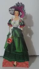Jointed Lady Doll of paper, by Judy M Johnson (#108)