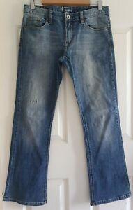 Ladies size 12 bootcut denim jeans - Jeanswest