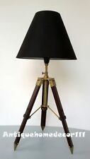 Marine Maritime Vintage Table Shade Lamp Tripod Stand Lighting Antique Gift Item