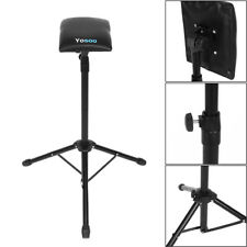 Foldable Adjustable Tattoo Tripod Stand For Arm Leg Rest Studio Chair Sponge Pad
