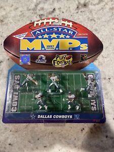 1997 Galoob NFL All-Star MVPs Dallas Cowboys Mini Figures