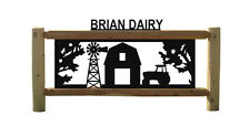 PERSONALIZED FARM & RANCH SIGNS - TRACTORS