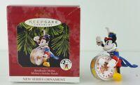 Hallmark Keepsake Ornament Bandleader Mickey Mouse 1st in Series 1997 Xmas Gift
