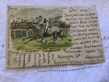 CPA Allemagne - Course de chevaux