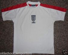 "ENGLAND / 1999-2001 - UMBRO - vintage JUNIOR Jersey / Shirt. Size: LB, 30/31"""