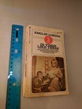 Emilie Loring #46 In Times Like These 1970's Softcover Bantam Books