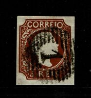 Portugal SC# 5, Used, minor toning, signed back - S10021