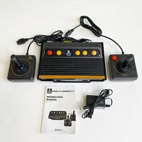 Atari Flashback 8 Classic Game Console With 2 Controllers 100 Built In Games