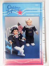 Children of America Sailor Suits Clothing Sewing Pattern # 9832  Vintage 1995