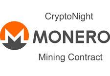 MONERO CryptoNight XMR XMO XMV Mining Contract - 48 Hours - 250...300 H/s