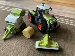 Bruder Traktor Claas Xerion 5000 mit Extras Landwirtschaft Spielzeug ab 4 Jahre