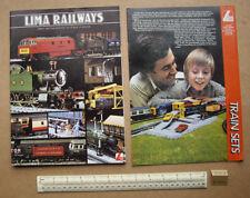 1980/81 Lima Full Range UK Catalogue. 00 & N Gauges. Very Elaborate    (R146)