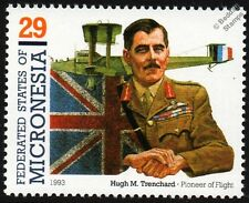 Lord Hugh Trenchard (Father of the RAF) WWI HANDLEY PAGE O/400 Aircraft Stamp