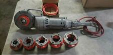 Ridgid 700 Electric Pipe Threader With 6 Dies Amp New Cord