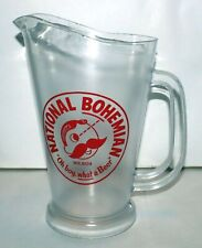 National Bohemian Plastic Beer Pitcher Natty Boh Oh Boy What A Beer