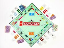 Monopoly Game   -  Edible  Cake Sugar Frosting Sheet Topper
