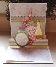A Handmade Pop Up Retirement Card With Anna Griffin Design & Supplies 3 D