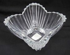 """""""Mikasa"""" 6"""" X 4"""" Tulip Bowl Clear Glass The LYDIA Nice Weight & Detail Lovely!!"""