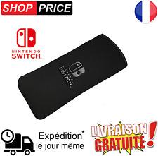 Housse étui souple Noir de très bonne qualité pour Nintendo Switch (NEUF)