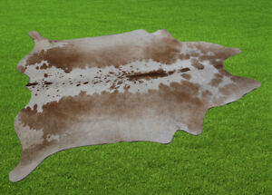 """100% New Cowhide Rugs Area Cow Skin Leather (58"""" x 50"""") Cow hide SA-7422"""