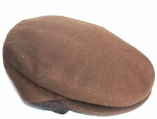 Borsalino Ivy Earflap Brown 58cm 7 1/4 L LARGE Winter Cap Wool/cashmere Driver