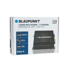 Blaupunkt AMP1501 1500 W Max Monoblock Class D Stereo Car Audio Amplifier